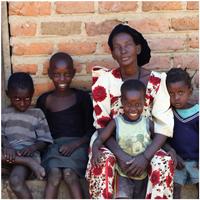 Betty Kalimi en haar gezin