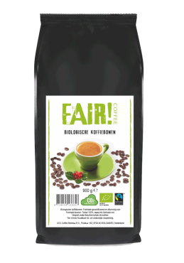 Bio Fairtrade bonen 900 gr.