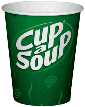 Cup a Soup bekers 250cc