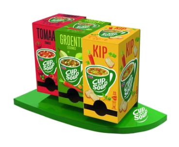 Cup-a-Soup Display (3-pack)